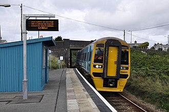 Llandanwg railway station - Image: Llandanwg Station (geograph 3631893)