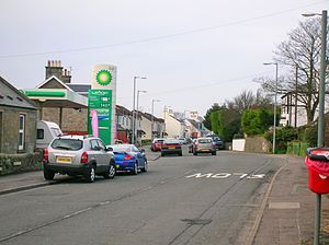 Loans, South Ayrshire - Image: Loans Main Street looking west