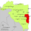 Localització de Peníscola respecte del Baix Maestrat.png