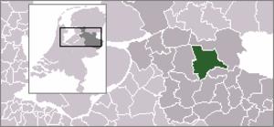 Ommerschans - Image: Locatie Ommen