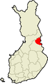 Location of Suomussalmi in Finland.png