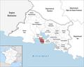 Locator map of Kanton Martigues.png