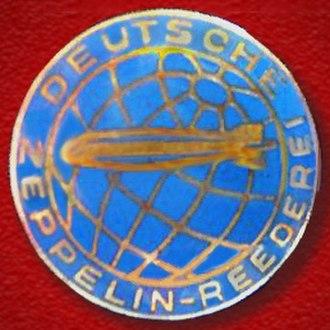 Deutsche Zeppelin Reederei - Image: Logo Deutsche Zeppelin Reederei 1935