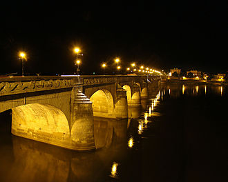 Saumur - The Cessart bridge