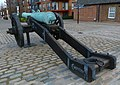 London-Woolwich, Royal Arsenal, Dresden cannon 2.jpg