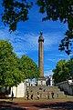 London - The Mall - View NW on Duke of York Column 1834.jpg