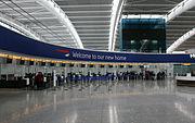 Terminal 5 interior