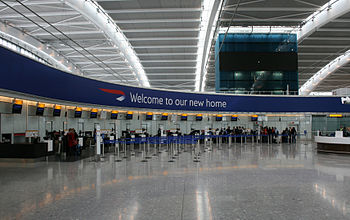 English: Terminal 5 at London Heathrow Airport