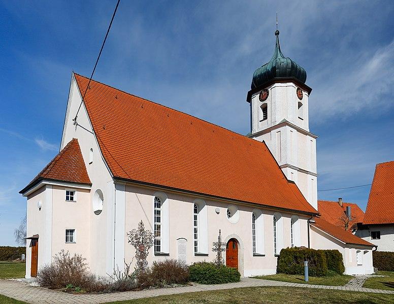 Datei:Lonsee Luizhausen Michaelskirche 2020 03 15.jpg