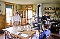 Looking E at Kitchen - Tinsley Living Farm - Museum of the Rockies - 2013-07-08.jpg