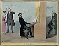 Lord Durham plays the organ and Roebuck pumps the bellows wh Wellcome V0050258.jpg