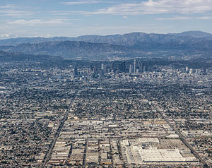 World population - Image: Los Angeles Aerial view 2013