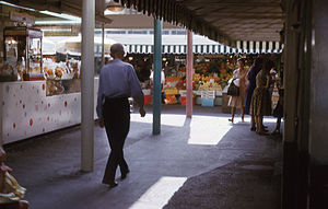 Farmers Market (Los Angeles) - Los Angeles Farmers Market in March 1962