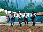 """The Lost Boys"" performing at the 2005 Georgia Renaissance Festival"