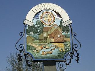 Loudwater, Buckinghamshire - Image: Loudwater Sign