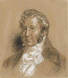 Eugène Louis Lami: Louis-Philippe, Kreidezeichnung, Musée Condé, Chantilly (Quelle: Wikimedia)
