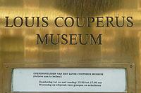 Louis Couperus Museum naambord.JPG