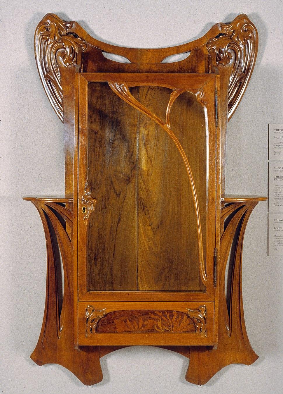 Louis Majorelle - Wall Cabinet - Walters 6587