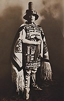 Louis Shotridge in Tlingit ceremonial costume (cropped).jpg
