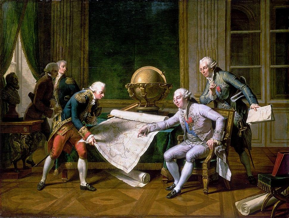 Louis XVI et La P%C3%A9rouse
