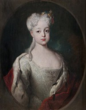 Victor Frederick, Prince of Anhalt-Bernburg - Louise of Anhalt-Dessau, first wife of Victor Frederick.