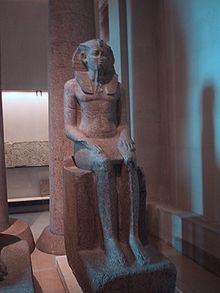 Statue of Sobekhotep IV (Louvre)