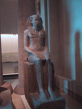 Sobekhotep IV - Statue of Sobekhotep IV (Louvre)