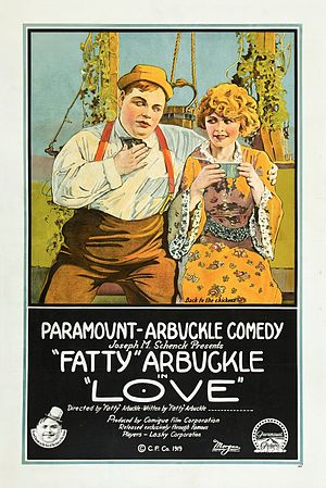 Love (1919 film) - Theatrical poster for Love (1919)