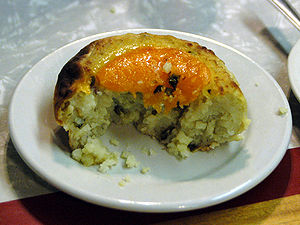 Knish from Schimmel, lower east side, Manhatta...