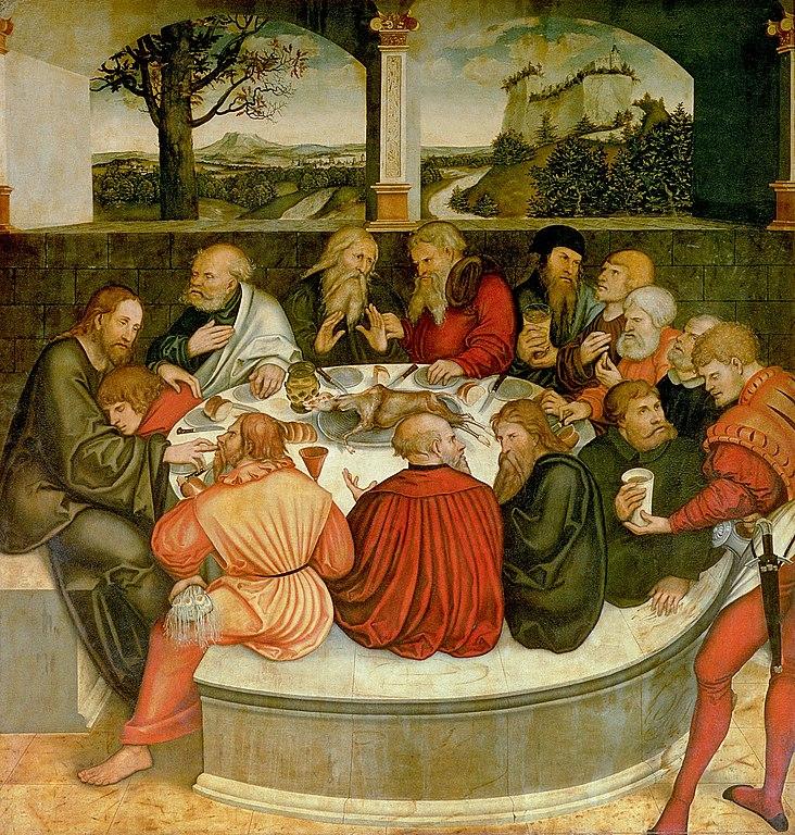 File Lucas Cranach D 196 Reformationsaltar St Marien Zu