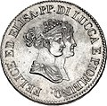 Lucca 5 Franchi 1805 Small Busts Obverse.jpg
