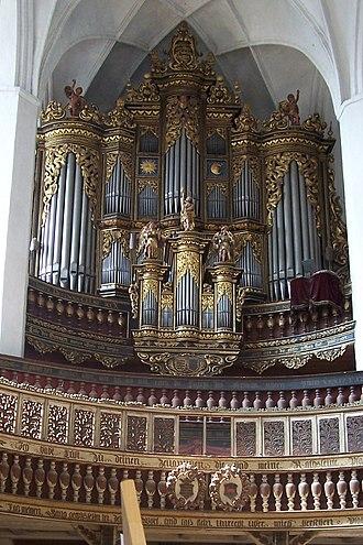 Luckau - Organ of St. Nicholas Church