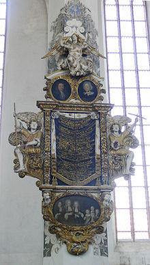 Luckau Nikolaikirche Epitaph Ernst Meusel 1.jpg