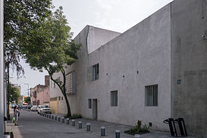 Luis Barragán House and Studio - Street view of the Casa Barragán