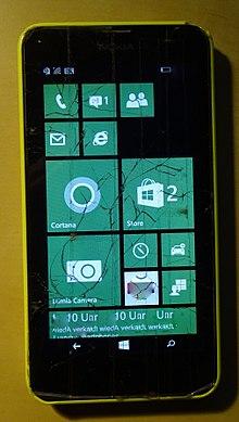 c60db05f689 Nokia Lumia 630 – Wikipédia, a enciclopédia livre