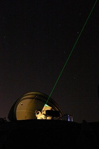 Satellite laser ranging - Satellite Laser Ranging