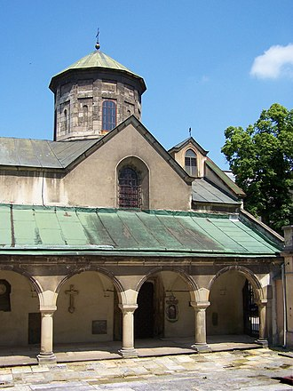 Armenians in Ukraine - Armenian Cathedral in Lviv.