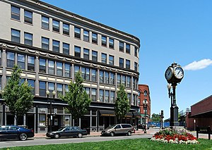 National Register of Historic Places listings in Lynn, Massachusetts - Image: Lynn Central Square