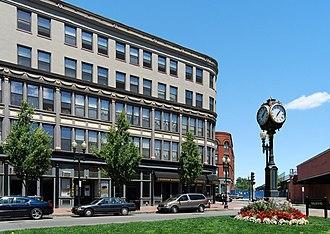 Central Square Historic District (Lynn, Massachusetts) - Image: Lynn Central Square