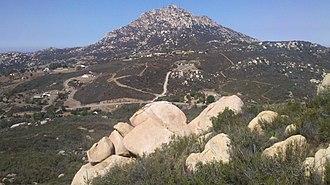 Lyons Peak - Lyons peak from the east