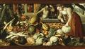 Målning. Pieter Aertsen: Frukt- och grönsakshandel. 1562 - Hallwylska museet - 64281.tif