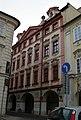 Měšťanský dům U Klárů, Tomáškův palác (Malá Strana), Praha 1, Tomášská 15, Malá Strana.JPG