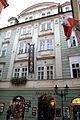 Měšťanský dům U anděla na kohoutě, U Hegeleinu (Staré Město) Karlova 25.jpg