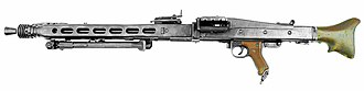 General-purpose machine gun - Image: MG42 Sideview 2