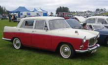 mg magnette mark iv a typical badge engineered bmc saloon car