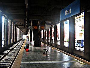 Boni MRT station - Boni Station