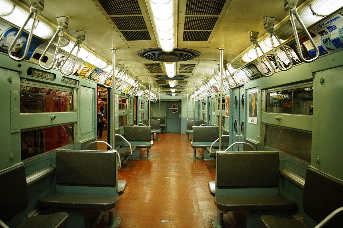 R11 R34 New York City Subway Car Wikipedia