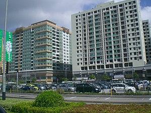 澳門半島新填海區方塊狀建築物(坊間戲稱為「火柴盒」)