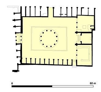 Macellum of Pompeii - Sketch of the Macellum