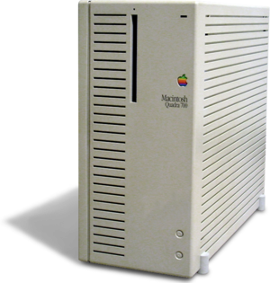 Myst - Macintosh computers like this one were used to develop Myst. Slow single-speed CD-ROM drives and game console memory limitations proved to be major technical constraints.